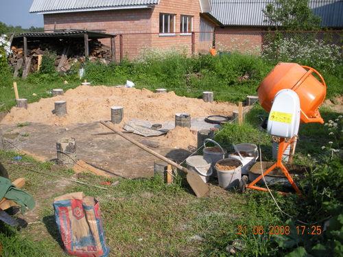 Бетоносмесители для постройки